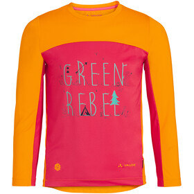 VAUDE Solaro LS T-Shirt II Kids, bright pink
